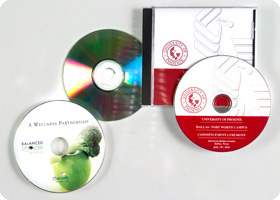 CD DVD Duplication with label