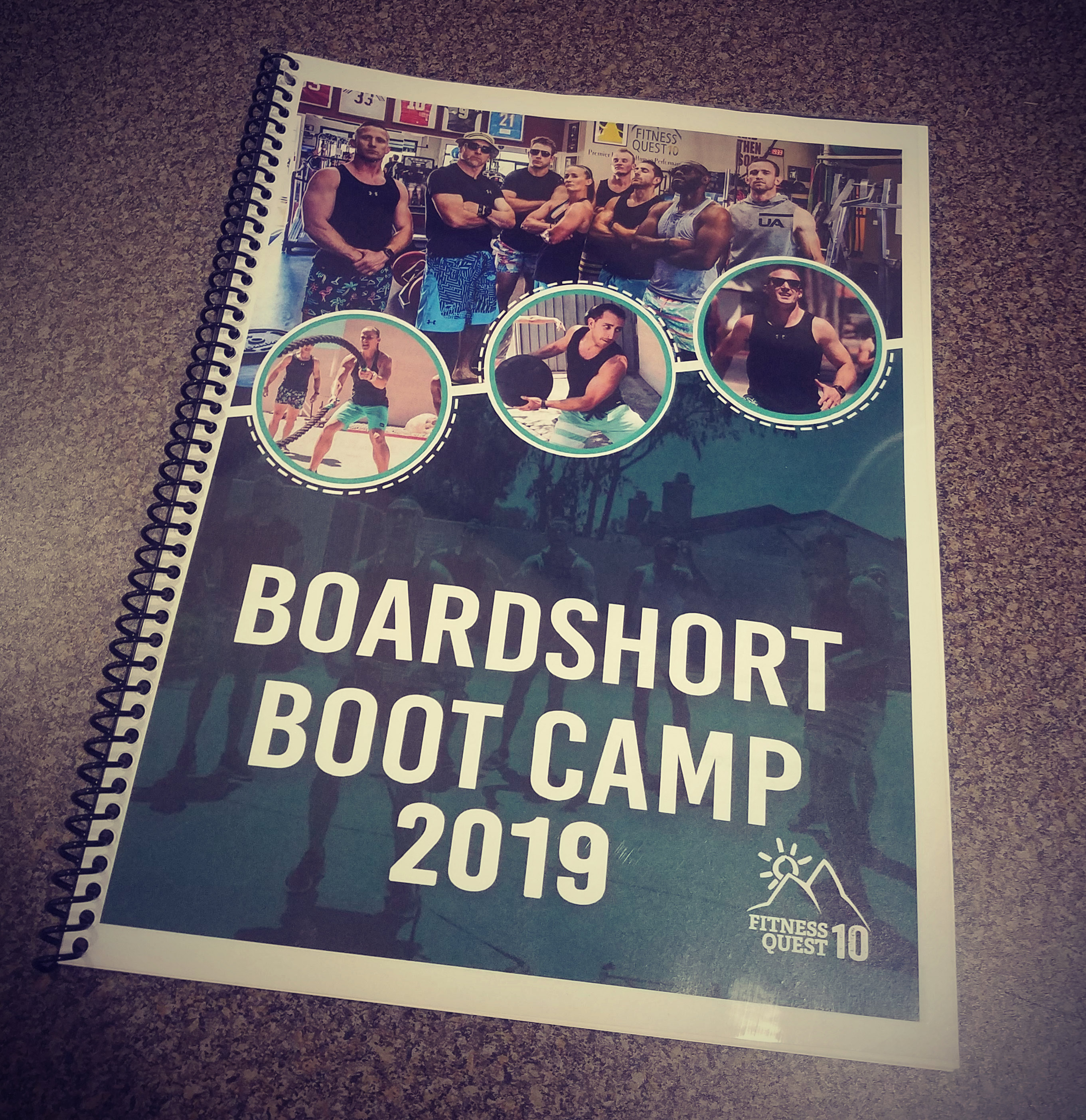 coil bound booklets, training materials, educational materials