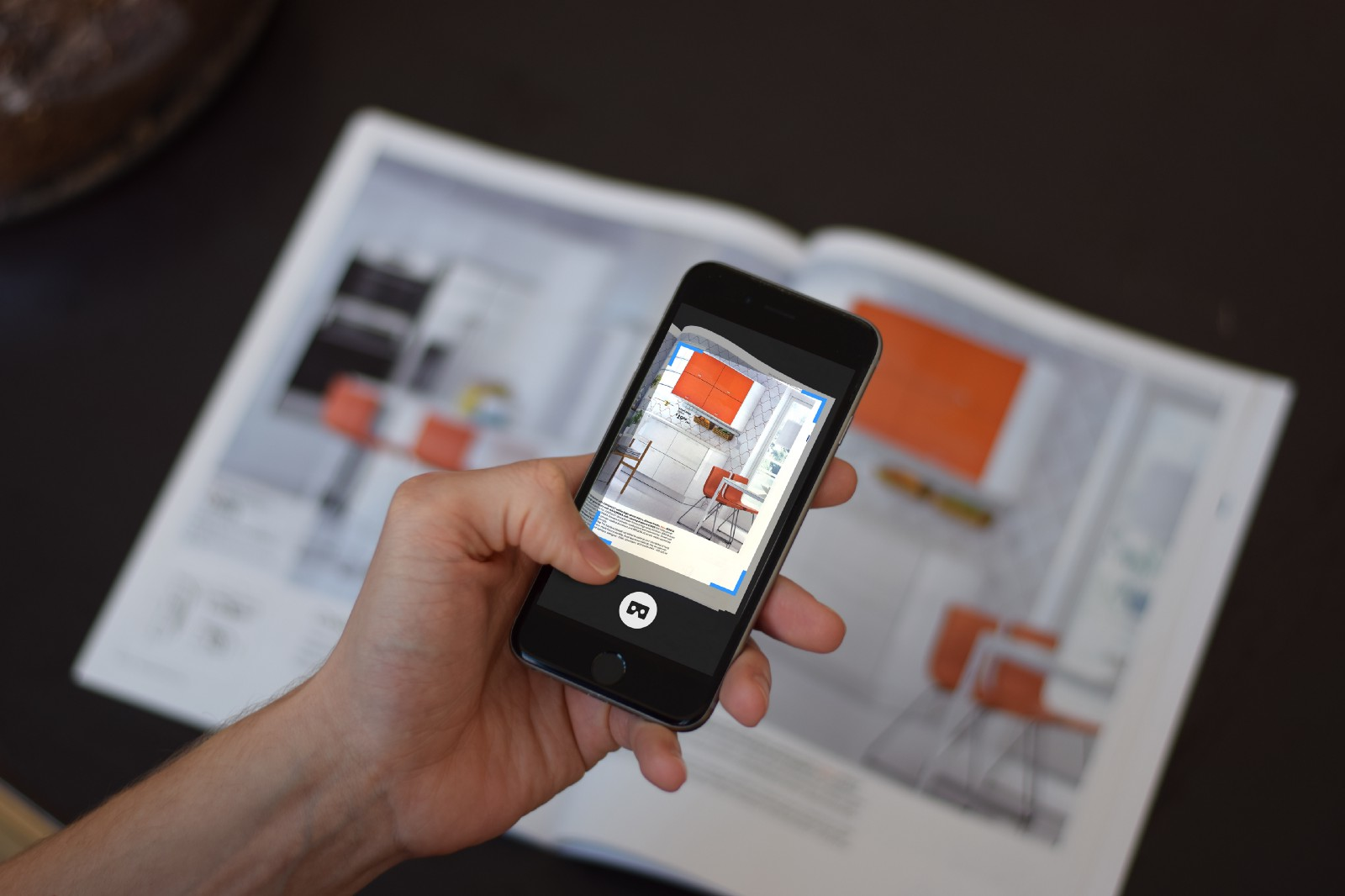 With augmented reality and print the possibilities are nearly endless.